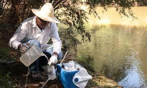 Analise de água de rios