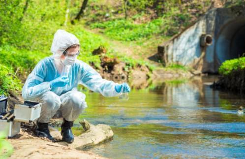 Análise de águas residuárias