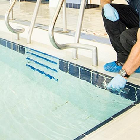 Analise bacteriológica para piscina