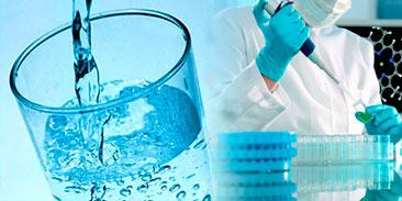Análise físico química da água