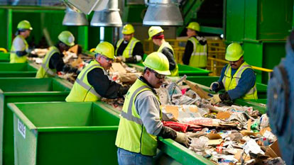 Análises químicas de resíduos sólidos