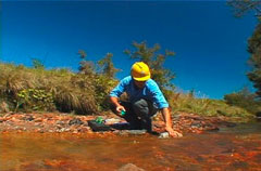 Laboratório de análises de água e efluentes