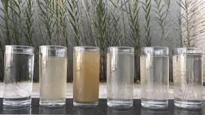 Analise e tratamento de água