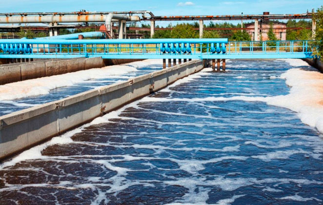 Análises de água industrial