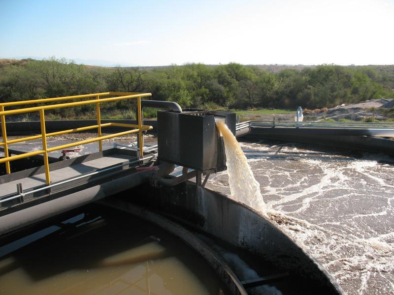 Tratamento de água residual