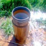 Análise de água subterrânea